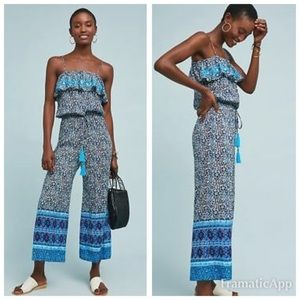 NEW!! Anthropologie | Blue Lagoon Jumpsuit by RAGA